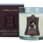 Свеча ароматическая Лотос и Франжипани