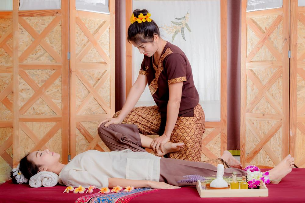 Massage therapist travels